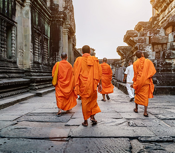 Angkor Wat Discovery - Golden Temple Retreat - Siem Reap Cambodia